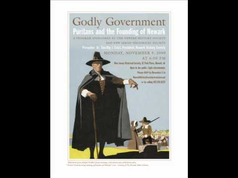 Godly Government: Puritans and the Founding of Newark - Nov 9, 2009 [audio]