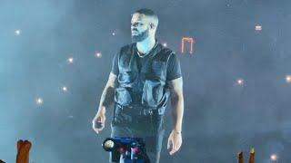 Drake Assassination Vacation Tour London O2 - J Cole, Dave, Popcaan, Giggs, Tory Lanez and NSG