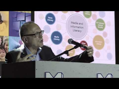 """Media Meets Literacy - David Buckingham  """"Where are we going and how can we get there?"""""""