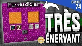 LE TRUC QUI M'ÉNERVE LE PLUS... | Minecraft Moddé S4 | Episode 74