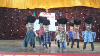 lilliput dance by jnv kadapa students