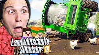 Wir bauen einen HÜHNERSTALL | Landwirtschafts Simulator 2019 #11