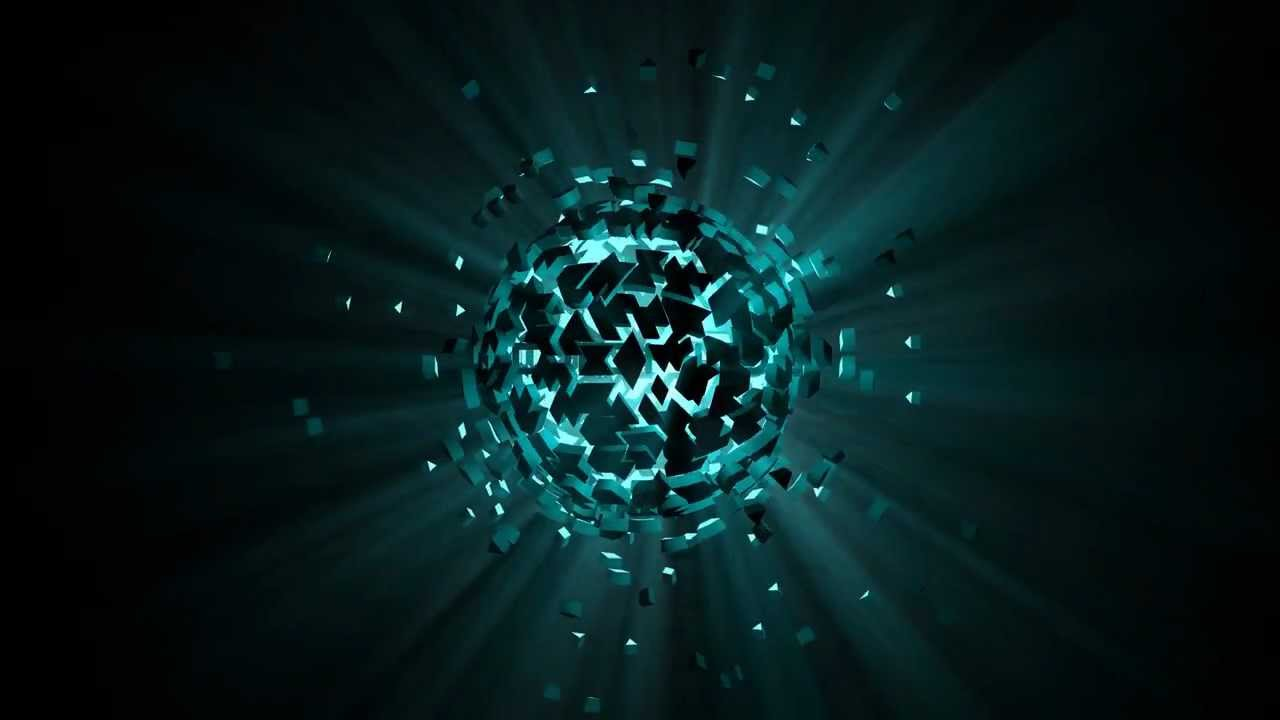 Explosion Wallpaper Abstract 3d C4d Explosion Intro Template Youtube
