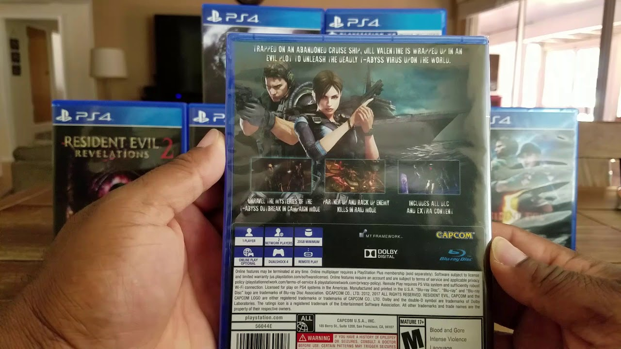 Resident Evil Revelations 2 PS4 Unboxing