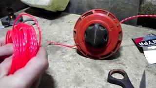 Обзор катушки для триммера (Быстрая заправка)