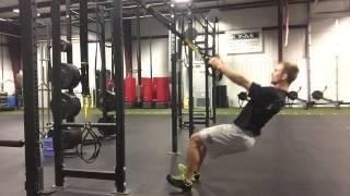 trx squat row posterior chain development conditioning