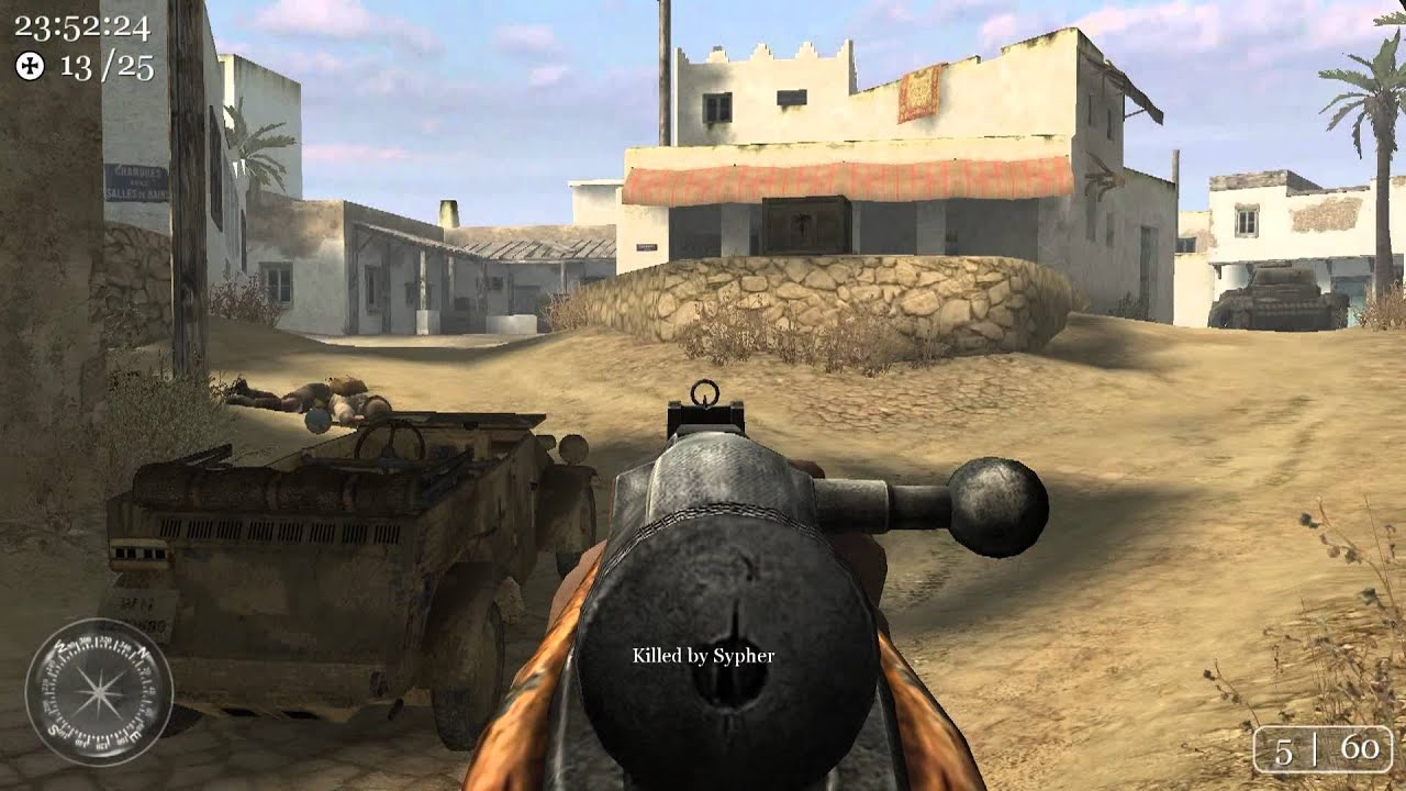 call of duty 2  multiplayer - rifle only  toujane