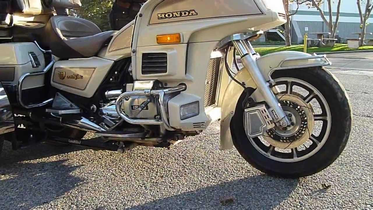 1986 Honda GL 1200 SEI Trike - YouTube