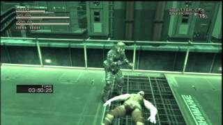 Repeat youtube video Metal Gear Solid HD Collection - Snake Eater: Volgin Boss Fight