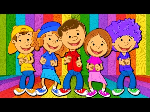 Animated To the Music - Actions Song for Kids - Bounce Patrol