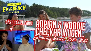 REAGERAR PÅ EX ON THE BEACH MED DANIEL PARIS | EP 21 *EDWIN SITTER I SKITEN*🥵