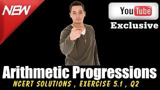cbse ncert solutions class 10 maths l arithmetic progression l ex 5 1 q2