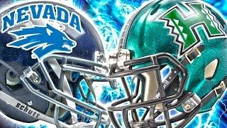 NCAA Football 14 Dynasty Mode Week 4 - Nevada Wolf Pack vs Hawaii Rainbow Warriors