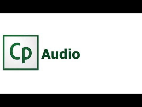 Adobe Captivate 8 - Adding audio