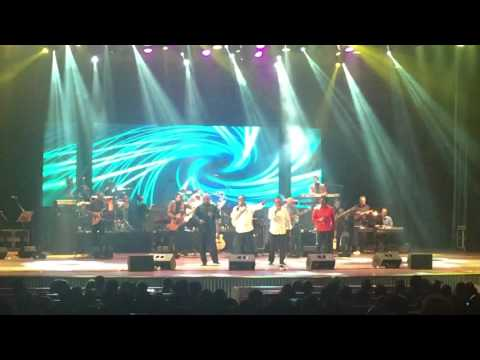 Annesley Malawana in concert - medley with members of super golden chimes