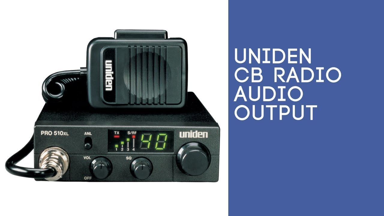 Uniden Pro-510xl 40-channel 2-way Compact Cb Radio pro510xl