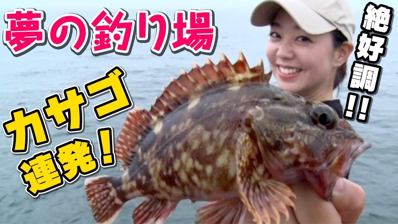 GO!GO!九ちゃんフィッシング #382 「横浜沖堤!夕マヅメに大物? 興奮のカサゴ連続ヒット!」