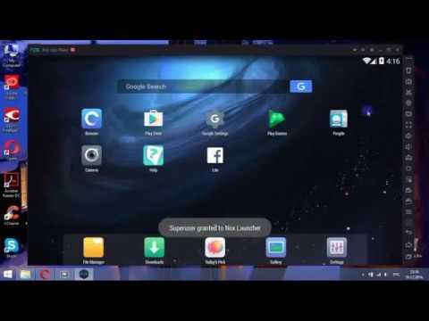 Установка на ПК эмулятора Android