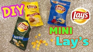 Miniature Real Cooking - Lay's Potato Chips