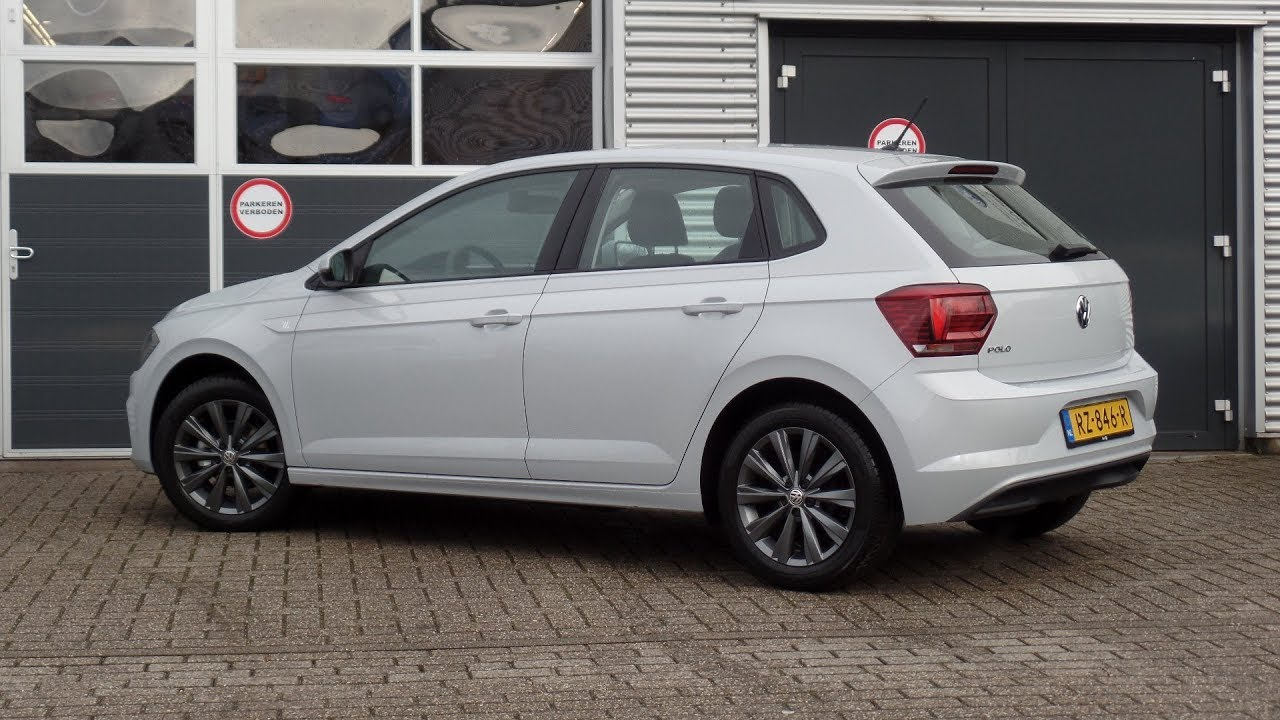 Vw Gti 0 60 >> Volkswagen NEW Polo 2018 Highline White Silver Metallic 16 inch Las Minas Dark walk around ...