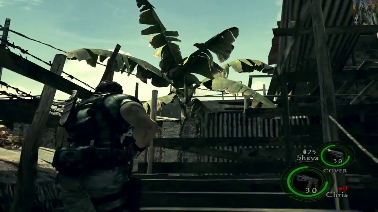 Resident Evil 5 Goldedition Update1 Trainer + Gameplay
