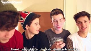 4 Guys 1 Hotel Room/Ask Jack, Nash, Cameron, Jc Subtitulado en Español