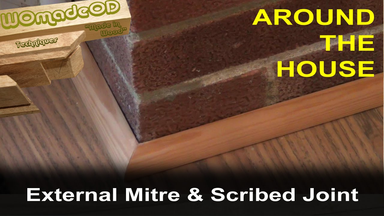 joining indoor flooring at howtospecialist how to floor corner install step baseboard trim build