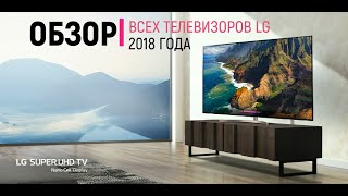 Обзор телевизоров LG 2018 года