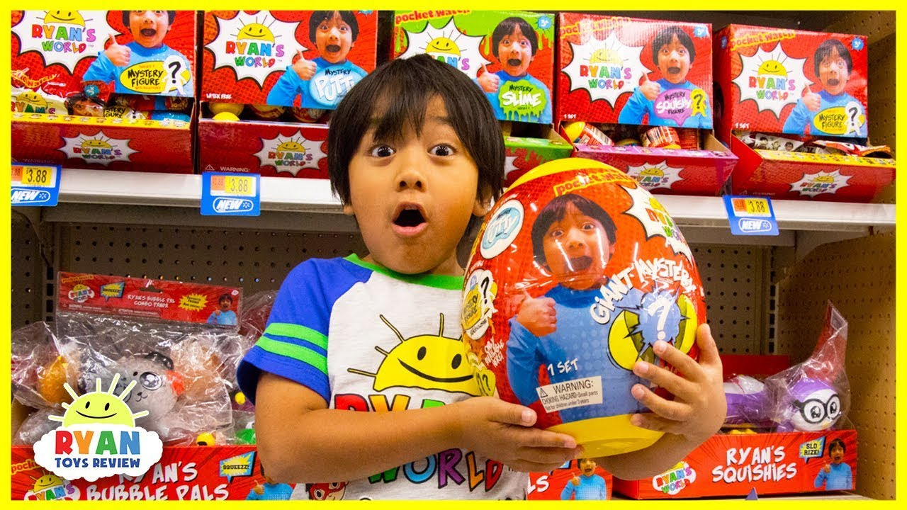 Ryan Toy Hunt For His Own Toys Ryan S World At Walmart