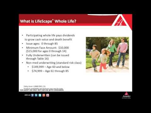 Assurity Whole Life Simplified - 11/10/2016