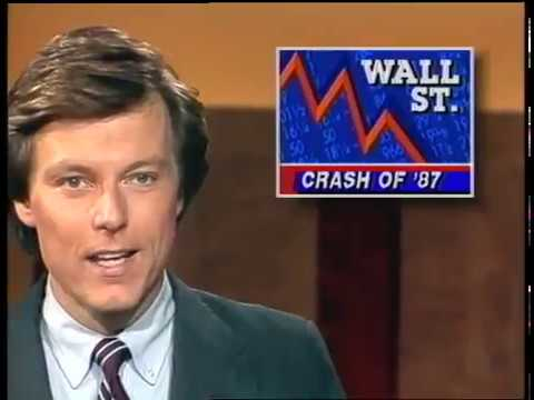 The 1987 stock market crash: Original news report