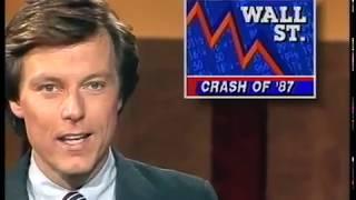 The 1987 stock market crash: Original news report