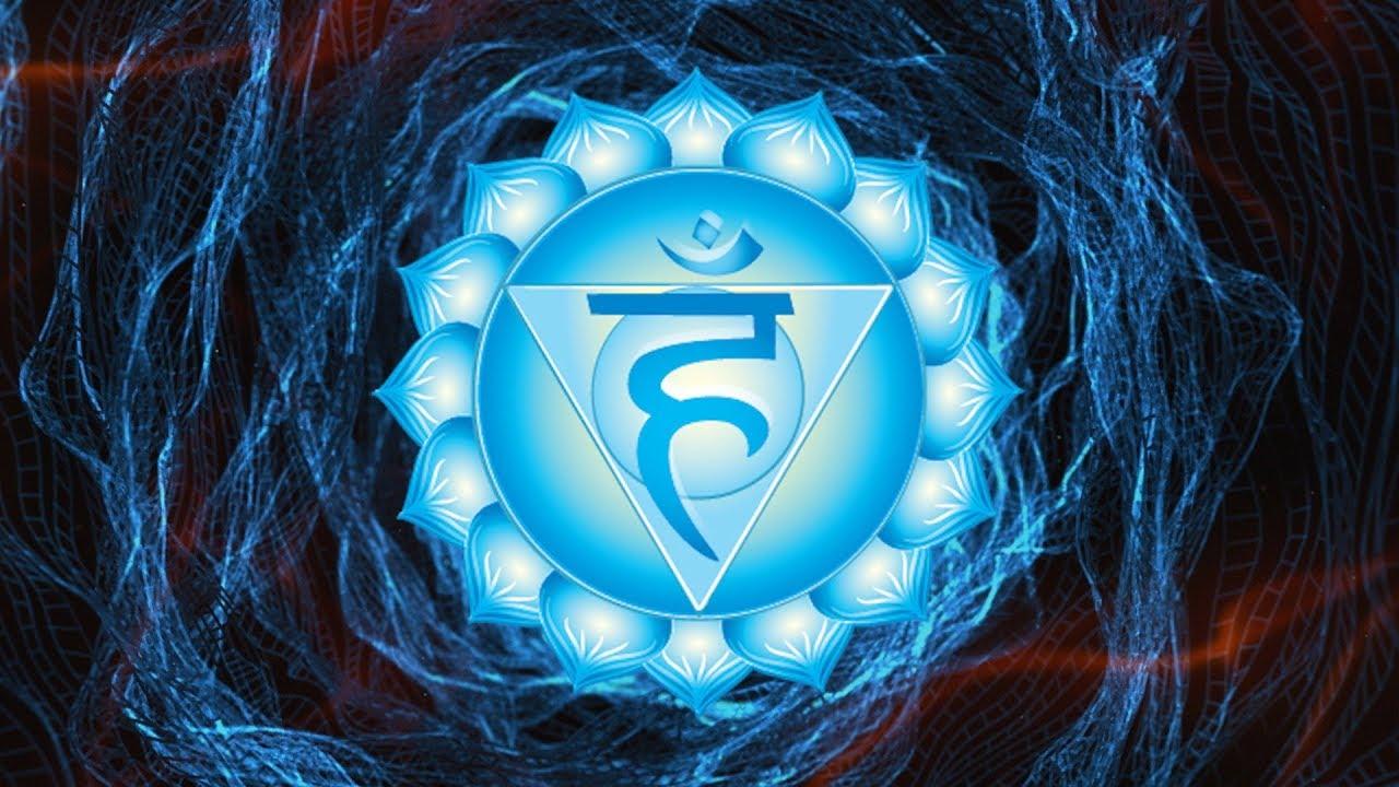 Throat Chakra Healing Chants ⁂ Seed Mantra HAM Chanting Meditation