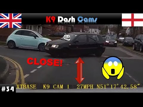 UK Dash Cam #34 | Close Calls | Bad Driving | Observations