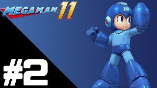 Mega Man 11 is action-platform video game developed by Capcom, and ...
