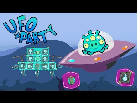 UFO + PARTY! - Bad Piggies Inventions