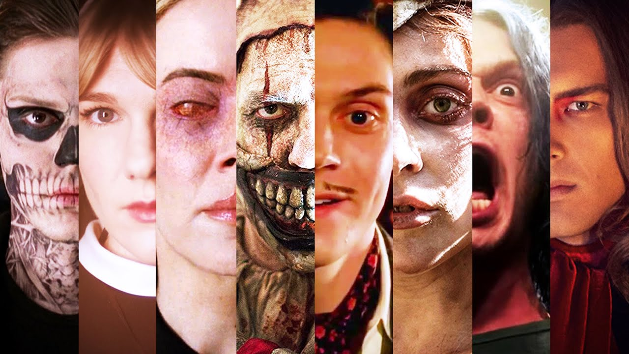 How All 8 Seasons Of American Horror Story Are Connected Youtube