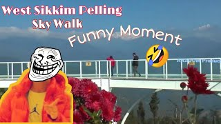 First sky walk of #India #Sikkim