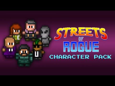 Streets of Rogue - Character Pack DLC - ME ENCANTA EL ALIENÍGENA 💙👽 |