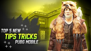 Top 5 New Tips And Tricks of Pubg Mobile | Part - 1 | By ParasOfficial