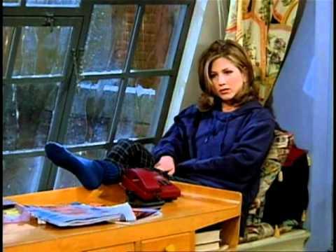 Friends - Ross fa una dedica a Rachel alla radio