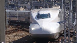【長時間走行音】山陽新幹線N700系2000番台のぞみ40号 博多→新大阪 2019.4.15