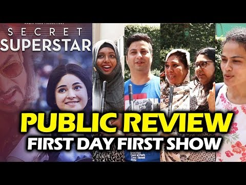 Secret Superstar Movie PUBLIC REVIEW - First Day First Show