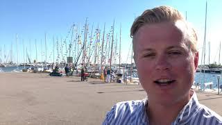 Jonas: Maston topissa Atlantin aalloilla, Hangon Regatta