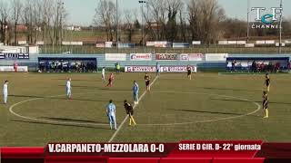 Serie D Girone D Vigor Carpaneto-Mezzolara 0-0