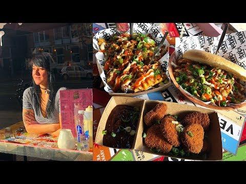 Eating Amazing Vegan Food In AMSTERDAM!