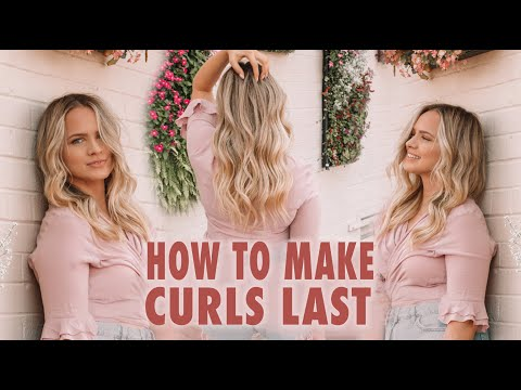 Fashion Finds - How To Make Curls Last