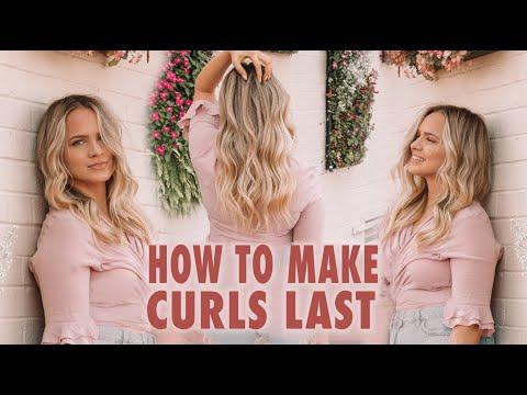 How To Make Curls Last - Kayley Melissa - YouTube