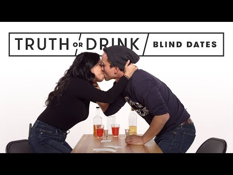 Blind Dates Play Truth or Drink (Round 2) | Truth or Drink |