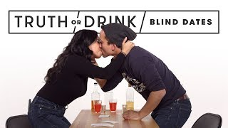 Blind Dates Play Truth or Drink (Round 2) | Truth or Drink | Cut thumbnail
